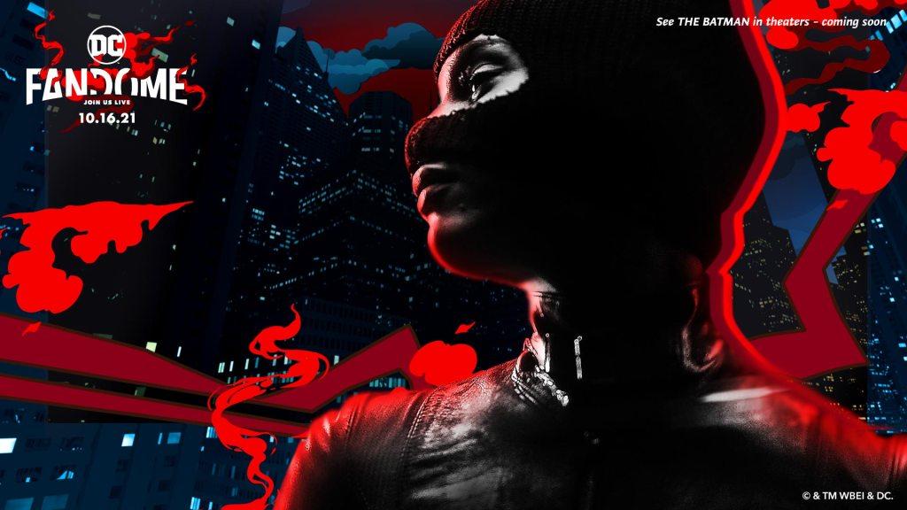 Catwoman/Selina Kyle (Zoë Kravitz) en The Batman (2022). Imagen: dccomics.com