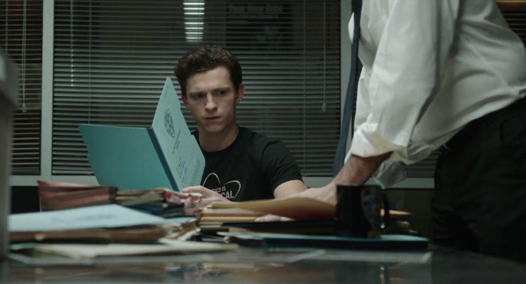 Peter Parker (Tom Holland) en el avance de Spider-Man: No Way Home (2021). Imagen: Fandom Twitter (@getFANDOM).