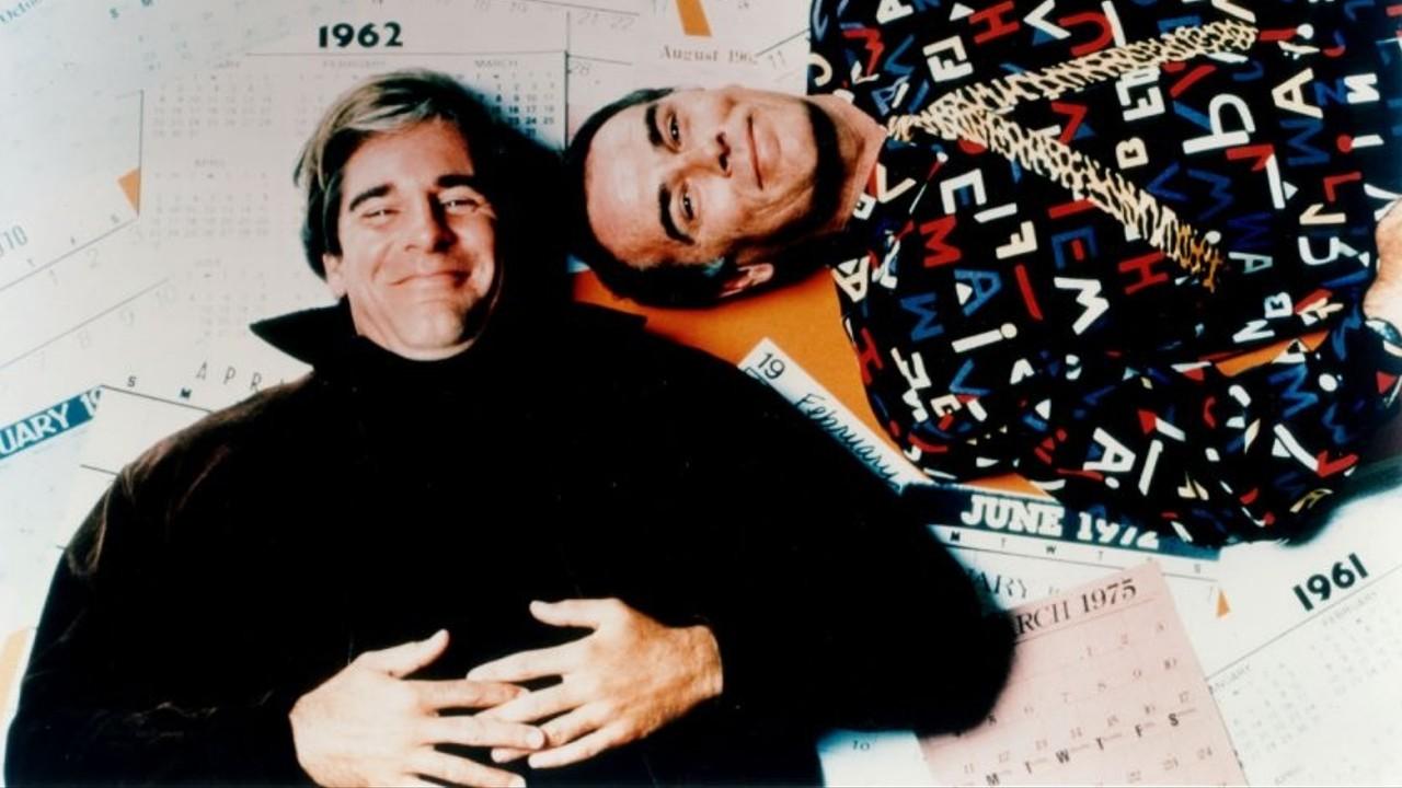 Scott Bakula como el Dr. Sam Beckett (Scott Bakula) y Dean Stockwell como el Almirante Al Calavicci en Quantum Leap (1989-1993). Imagen: fanpop.com