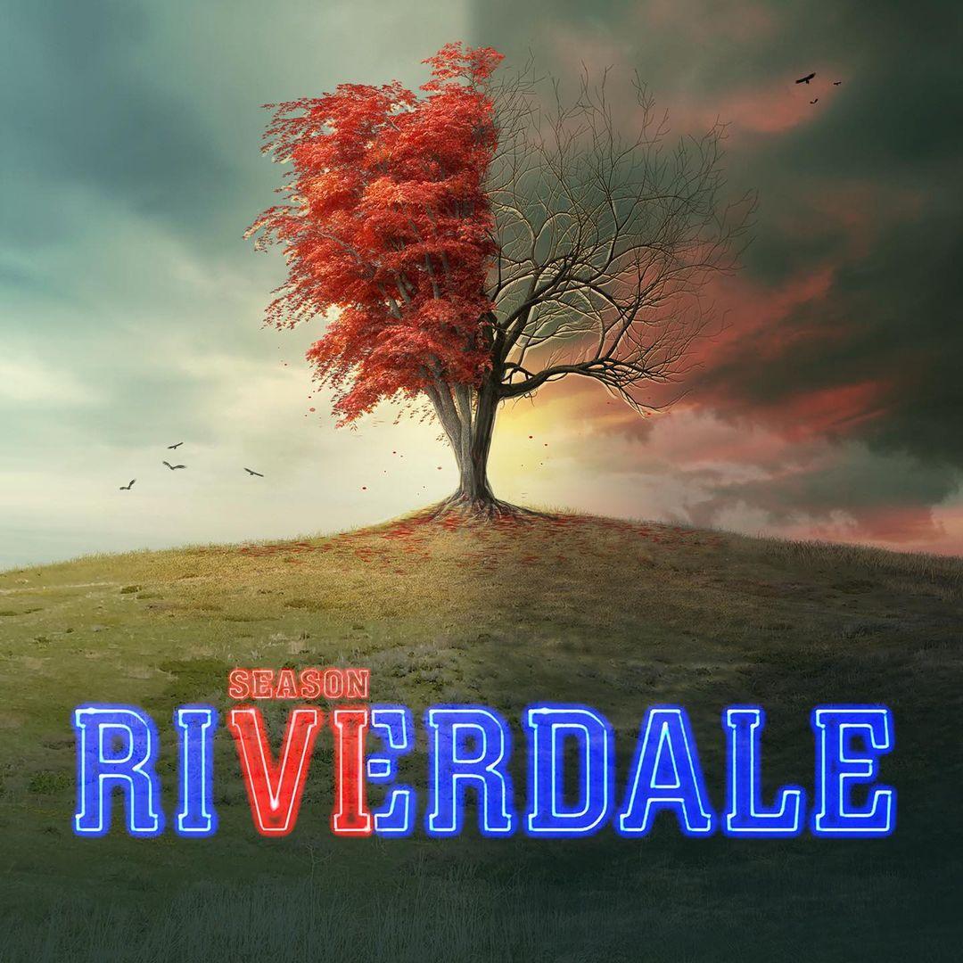 Arte promocional de la sexta temporada de Riverdale. Imagen: Roberto Aguirre-Sacasa Instagram (@writerras).