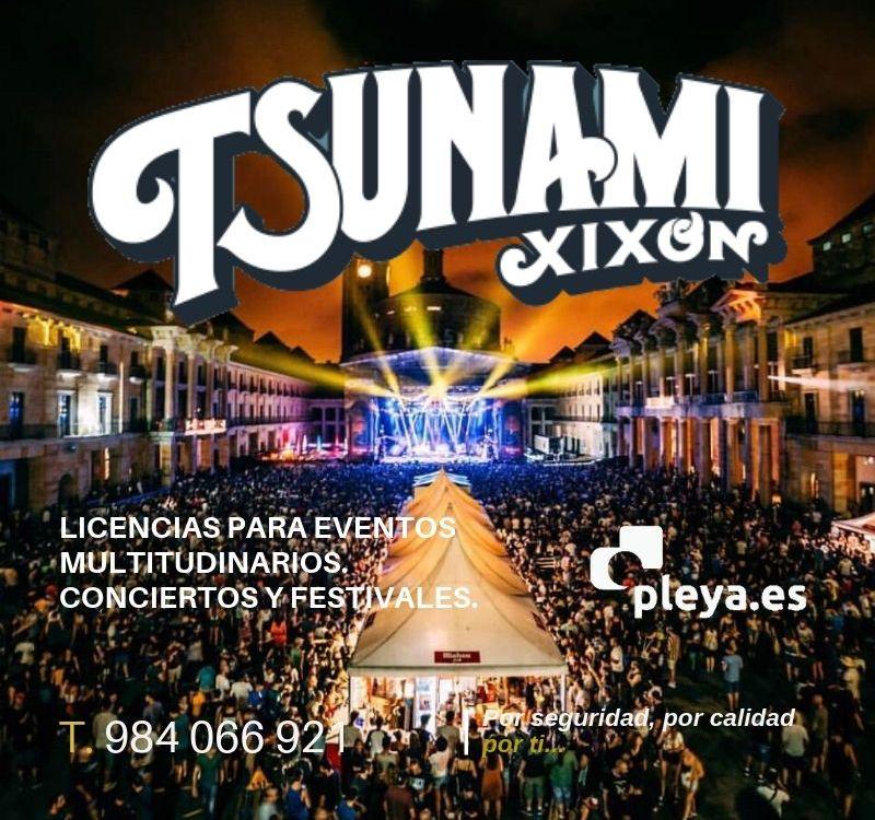 Licencia festival Tsunami Xixon 2019
