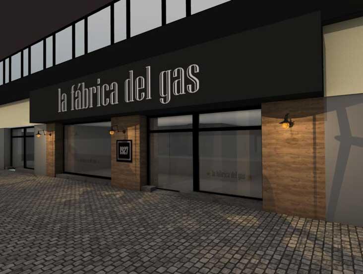 licencia apertura cafetería fábrica del gas Gijón