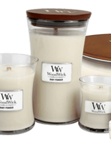 WoodWick Baby Powder