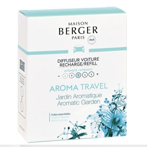 Maison Berger Autoparfum navulling Aroma Travel