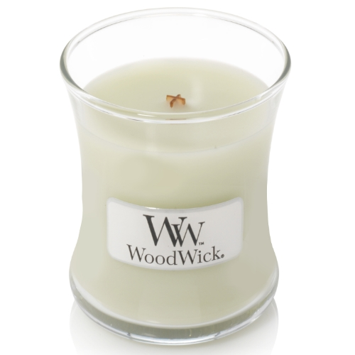 WoodWick Geurkaars Fig Leaf & Tuberose Mini