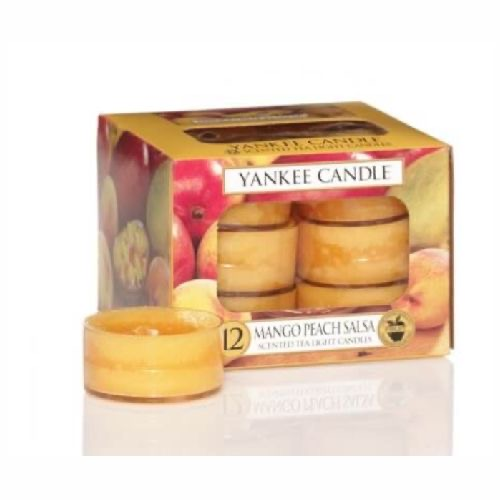 Yankee Candle Mango Peach Salsa Tea Lights