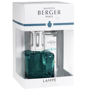 Lampe Berger Giftset Ice Cube Green