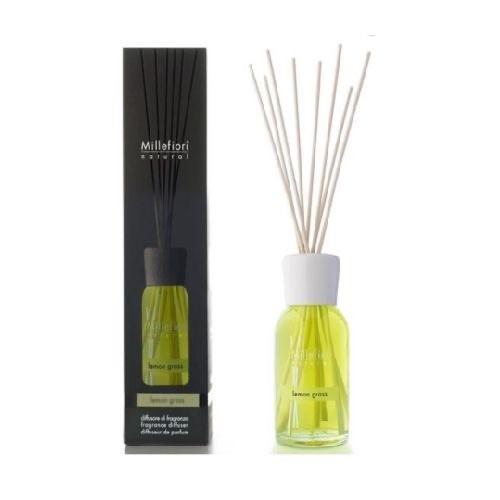 Millefiori Milano Natural Geurstokjes Lemon Grass 100 ml