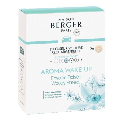 Maison Berger Autoparfum navulling Aroma Wake-Up