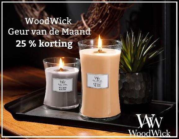WoodWick Geur van de Maand November 2020