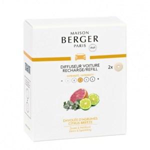 Maison Berger Autoparfum navulling Citrus Breeze