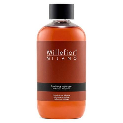 Millefiori Milano Geurstokjes navulling Luminous Tuberose 250ml