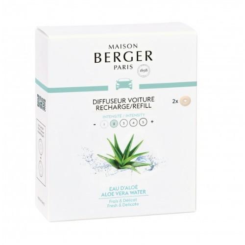 Maison Berger Autoparfum navulling Aloe Vera Water