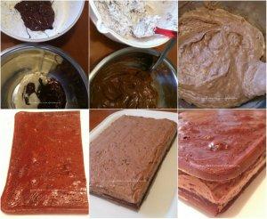 Tortul Sultanului, cu ciocolata si alune4