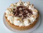 Banoffee - tarta cu banane si dulce de leche