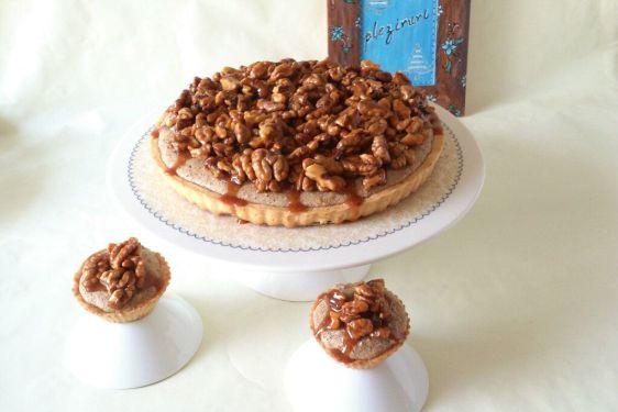Tarta cu nuci si caramel