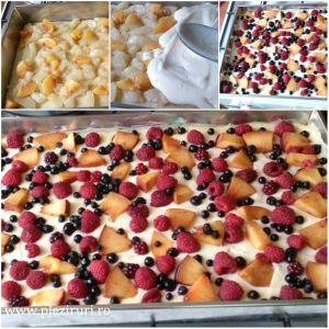 Prajitura-cu-crema-de-vanilie-si-fructe