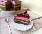 Tort ADI cu ciocolata alune si fructe de padure