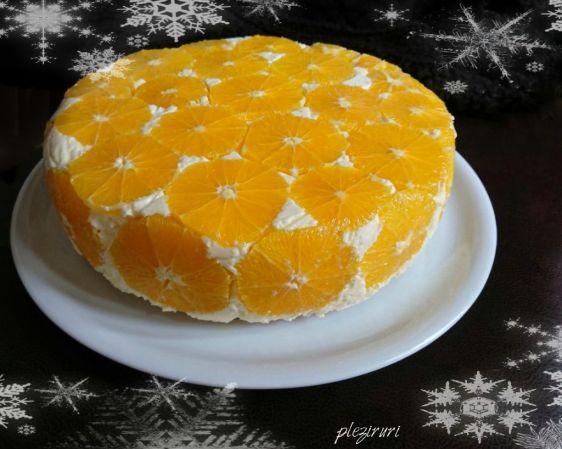 Tort cu portocale