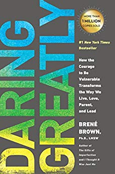 Brene Brown Daring Greatly Book Cover