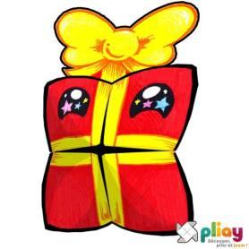 Marionnette Cadeau Cocotte en papier à imprimer - Les loisirs créatifs Pliay