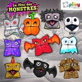 Marionnettes en papier spécial Halloween