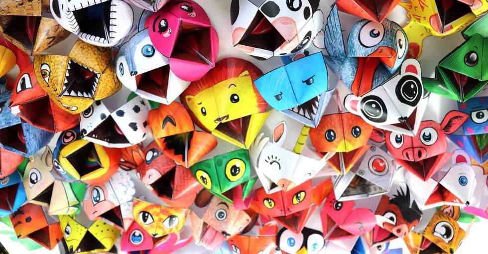 Les cocottes en papier, des jeux Pliay