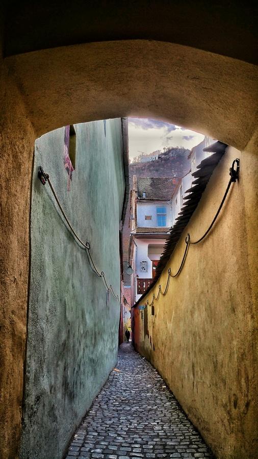 Strada Sforii în Brașovul din plimbările mele