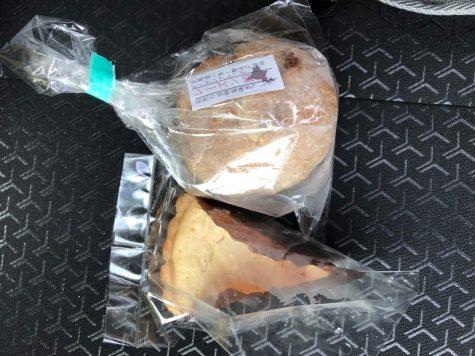 てんねんやさんのパンとチーズケーキ