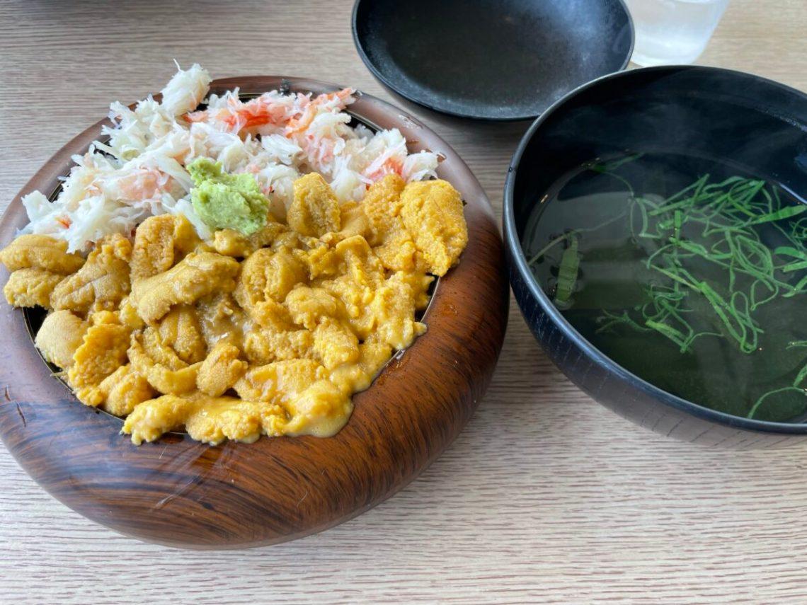ウニカニ丼 佐藤食堂