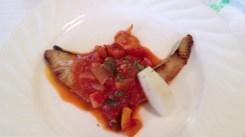 魚料理(ブリだったかな?)