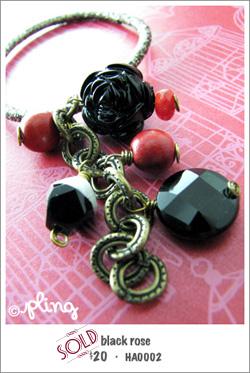 HA0002 - black rose