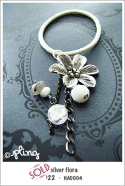 HA0004 - silver flora