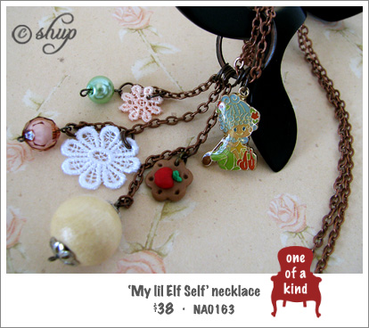 NA01632 - 'My lil Elf Self' necklace