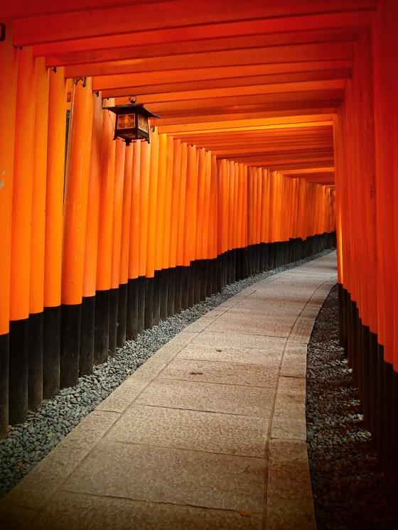 Senbon Torii Gates at Fushimi Inari - Kyoto Japan
