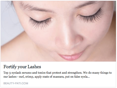 Top 3 Eyelash Serums and Tonics - Singapore Beauty-Pati