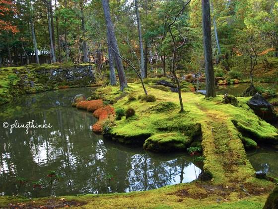 Moss Garden UNESCO Heritage Site - Kyoto