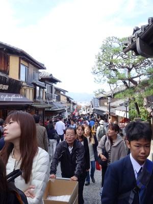Chawan-zaka Teapot Lane - Kiyomizu Kyoto