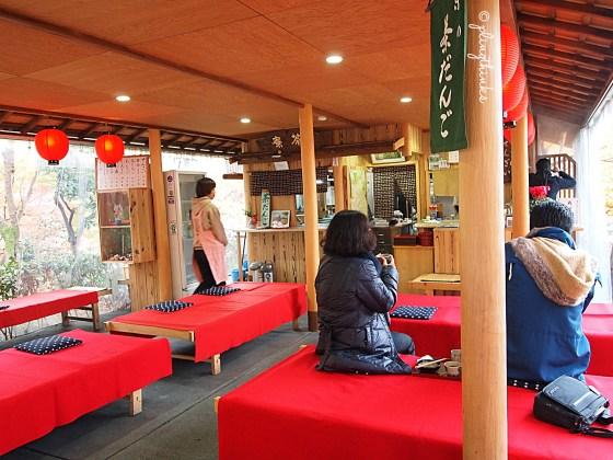 Rest huts at Kiyomizu-dera - Kyoto Japan