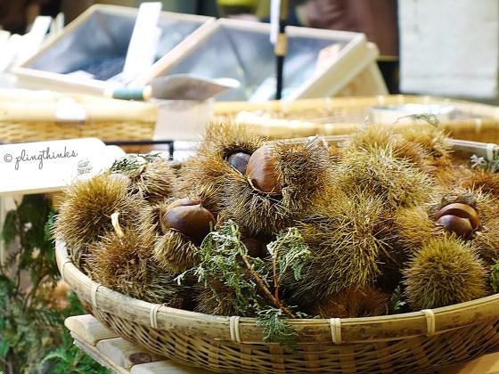 Tanba Chestnuts - Nishiki Market Kyoto