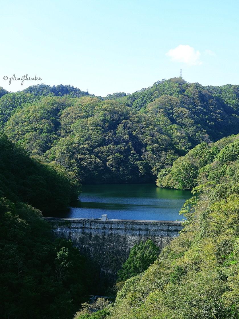 Nunobiki Dam - Kobe Nunobiki Herb Garden Ropeway