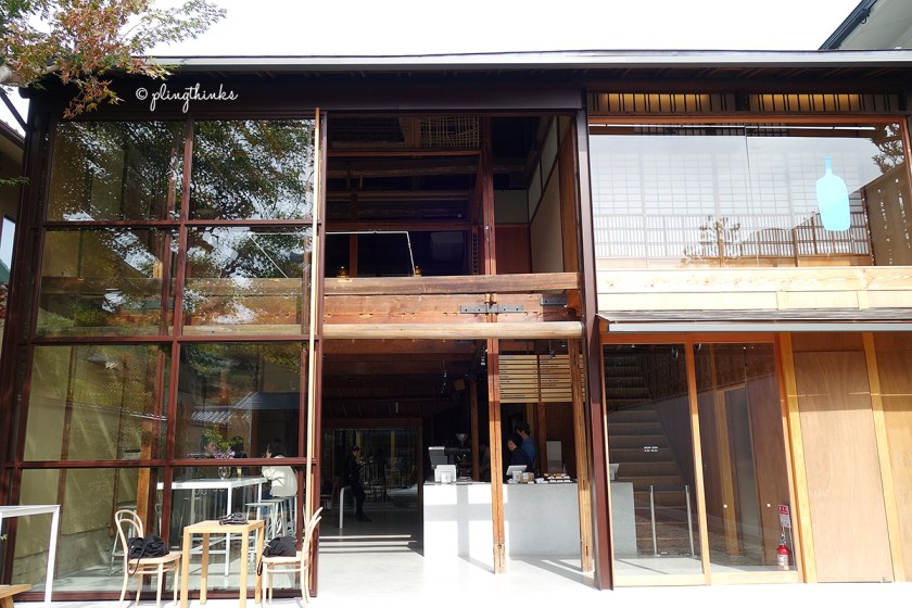 Blue Bottle Coffee Kyoto - Exterior of Cafe Building
