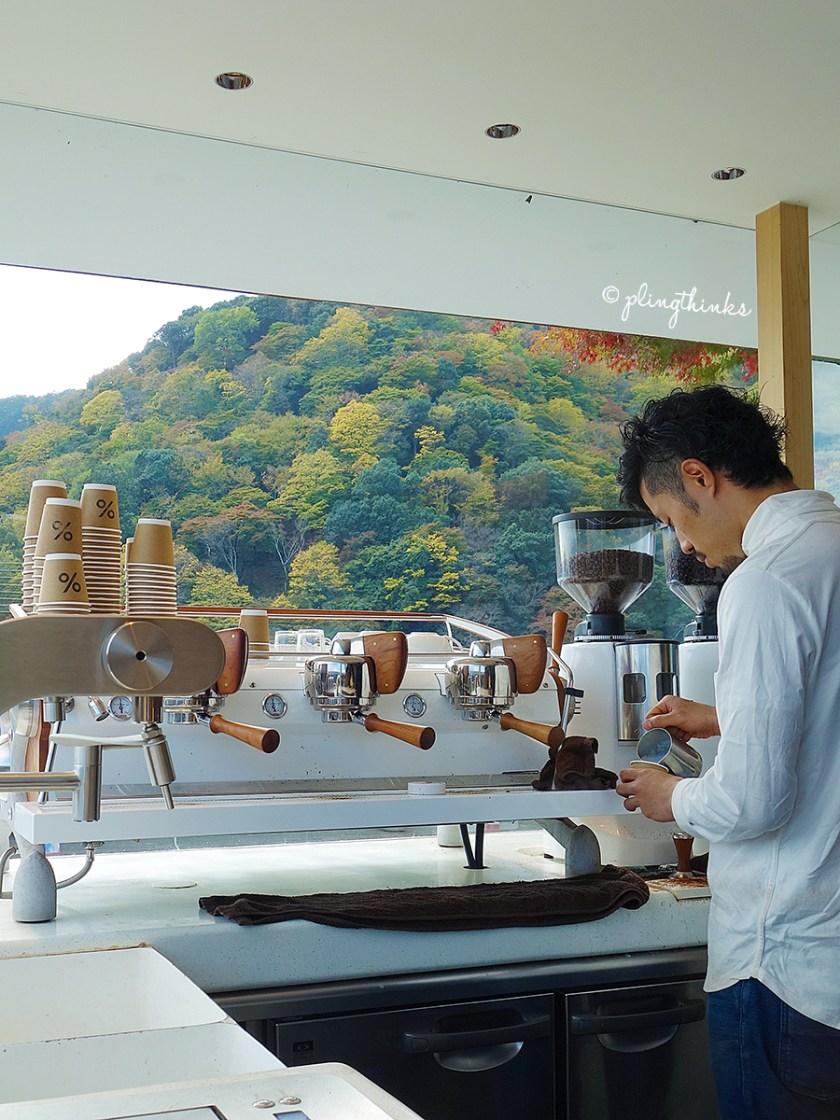 Cafe Arabica Arashiyama - Kyoto