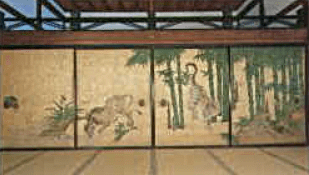 Hojo Nanzenji - Tiger Drinking Water