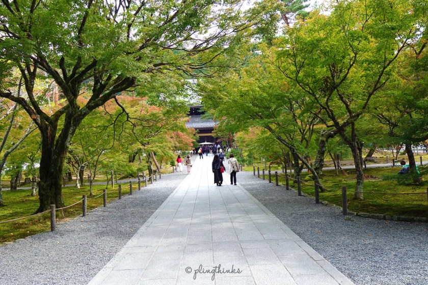 Nanzenji Sanmon Gate - Path