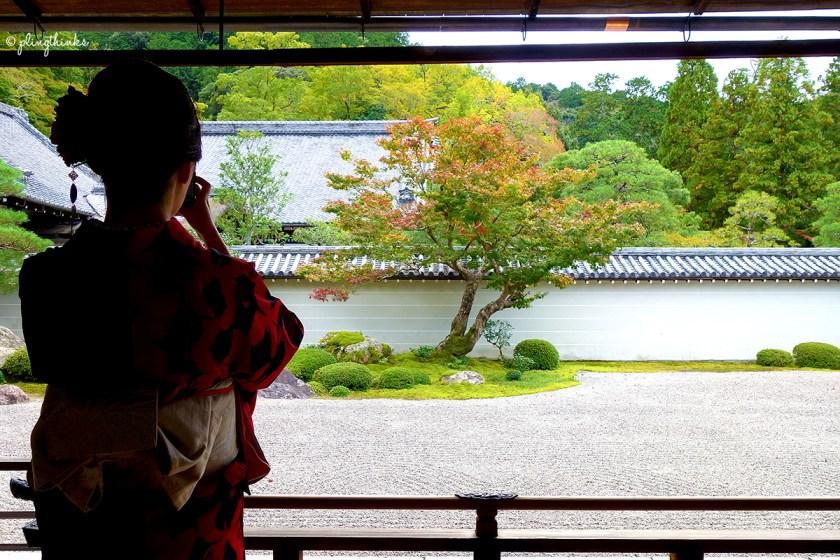 Nanzenji Temple Hojo Garden - Kyoto Autumn