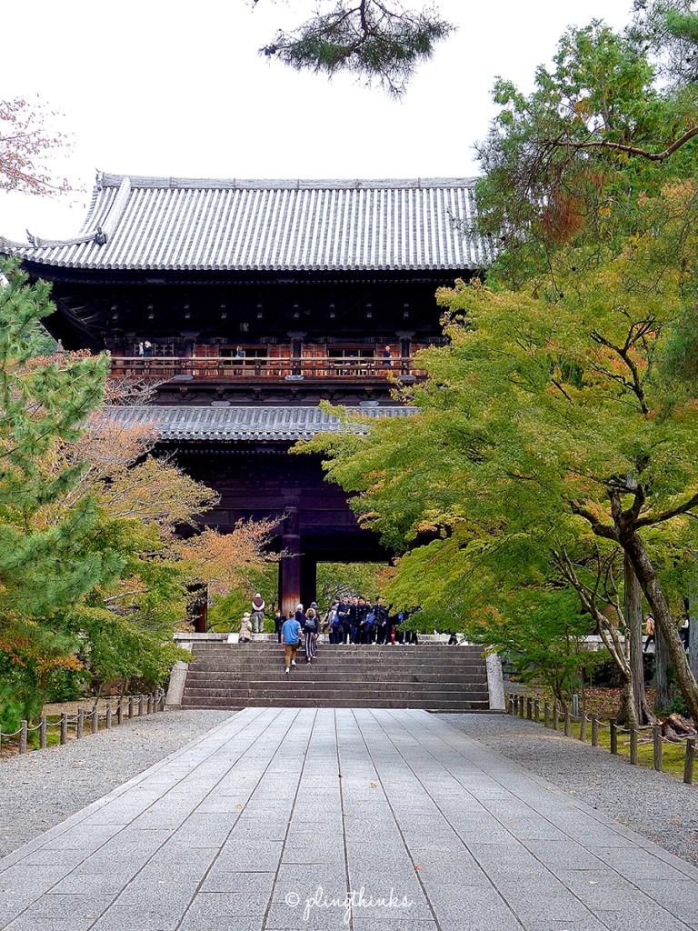Nanzenji Temple Sanmon Gate - Kyoto