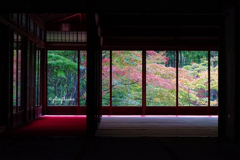 Tenjuan Garden Autumn Window - Nanzenji Temple Kyoto