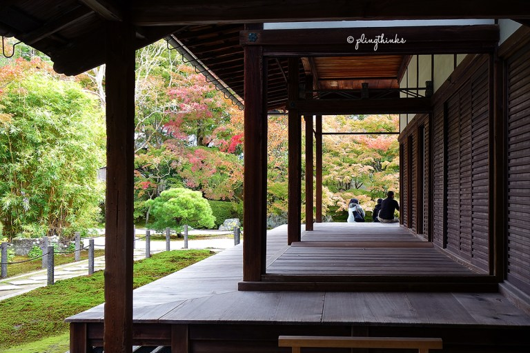 Tenjuan Garden at Nanzenji Temple Kyoto