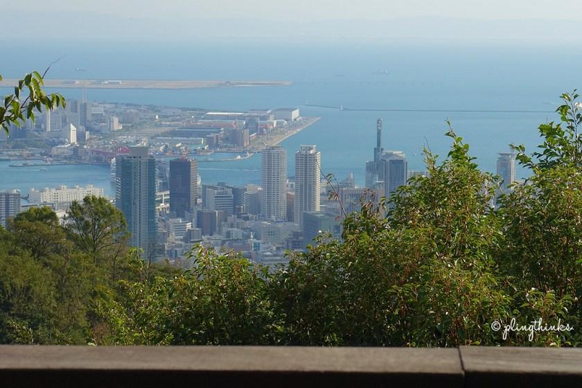View from Herbal Footbath - Nunobiki Herb Gardens Kobe